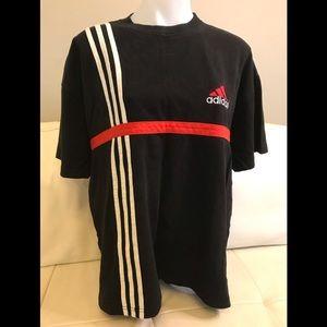 Men's Adidas Black Crew Neck Top